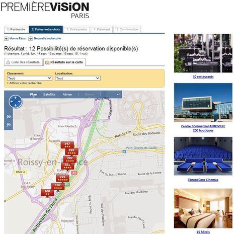 Première Vision choisit la solution de résa de l'OT de Roissy | Médias sociaux et tourisme | Scoop.it