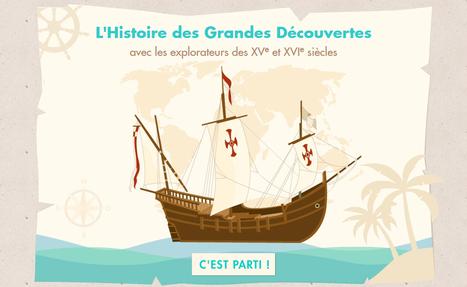 Grandes découvertes - FranceTV éducation | Revue de tweets | Scoop.it