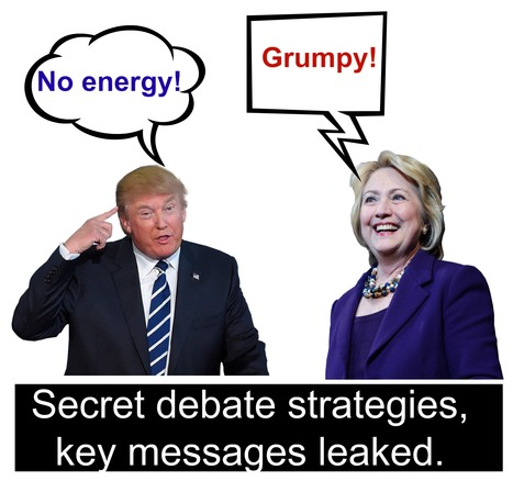 Debate strategies leaked by insiders in advance | Public Relations & Social Media Insight | Scoop.it