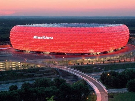 The Allianz Arena | inspiration photos | Bayern | Scoop.it