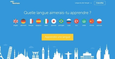 3 réseaux sociaux pour apprendre une langue étrangère | Educação&Web | Scoop.it