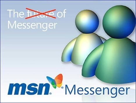 Microsoft is finally shutting down MSN Messenger | Social Media News & Tutorials | Scoop.it