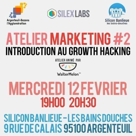 Atelier Marketing #2 : Introduction au Growth Hacking | Growth hacking & Social Marketing | Scoop.it