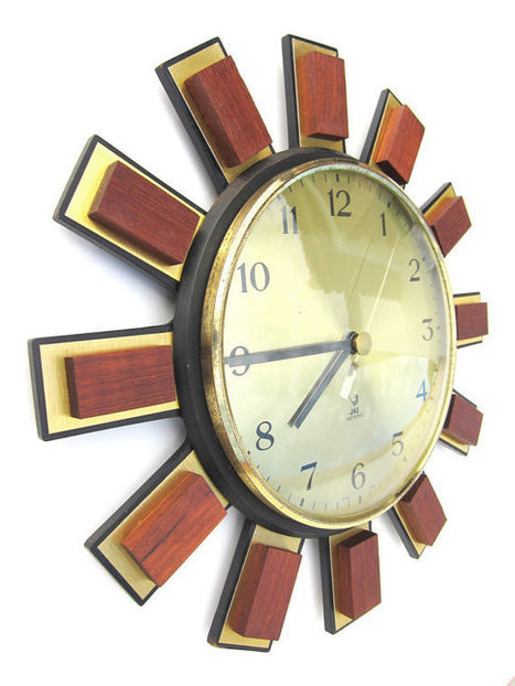 French vintage wall clock | QuiteQuainte | Scoop.it