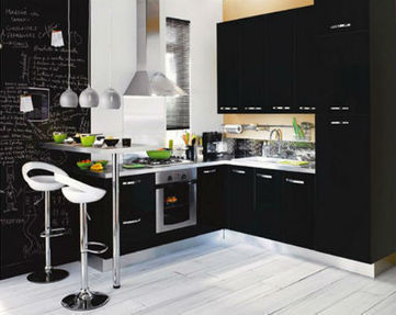 Cocinas en negro - DecoActual.com | Mobiliario y decoración | Scoop.it