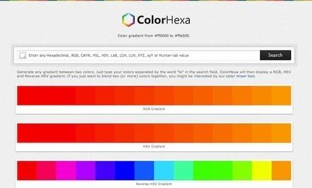 5 Awesome Web apps for finding the perfect color scheme | Le Top des Applications Web et Logiciels Gratuits | Scoop.it