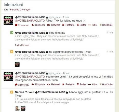 2 case histories su come utilizzare in modo efficace Twitter in hotel   Social + Blog   Scoop.it