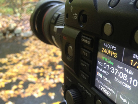 Sony PMW-F55 High Frame Rate (HFR) 240 FPS Test | Tom Guilmette | Videography | Scoop.it