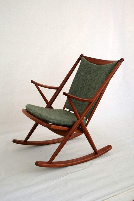 mid century rocking chair | 20th century furniture design | Scoop.it