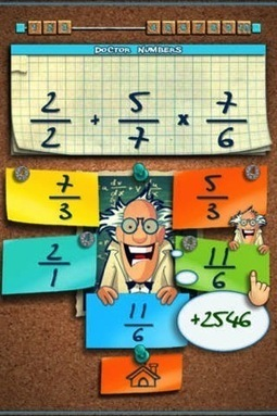 Doctor Numbers : Math Challenge - Math Apps for Kids - Fun Educational Apps for Kids | Schooled Fishes | Scoop.it