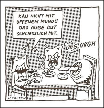 Deutsch lernen mit Cartoons / 7-B: Redewendungen und Ausdrücke mit Körperteilen - Auge / Augen - Blog für alle, die Deutsch lernen | Idimatische Ausdruecke | Scoop.it