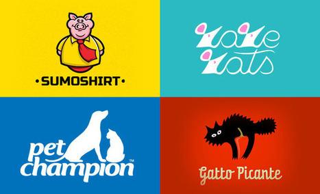 40 Beautiful Animal Logo Design examples for Inspiration | art biz | Scoop.it