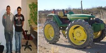 Detienen a dos por robo de tractor y remolque- noticias de Juarez - La Red Noticias | Tipos de Robo Dogmática Jurídica Penal (P.E) | Scoop.it