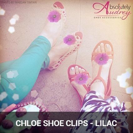 Tweet from @absolutelyaudry | Shoe Clips - Shoe Accessories - Shoe Jewelry | Scoop.it