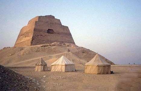 The Pyramid of Meidum in Egypt | KNOWING............. | Scoop.it