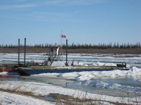 The Mackenzie River, melting… | Life in Inuvik, #NWT | NWT News | Scoop.it