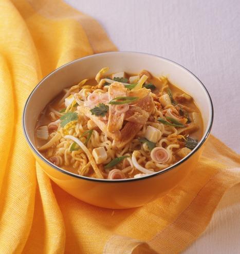 Quick coconut noodle soup | Asian Inspirations | Scoop.it