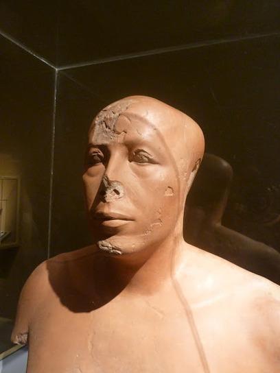Pyramidales : Buste de Ankh Haef | Égypt-actus | Scoop.it