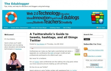 You'll Never Walk Alone……..building a personal learning network with Twitter « ICT for Teaching & Learning | Interactive Teaching and Learning | Scoop.it