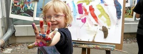 Viele bunte Hände sind in der Erfurter Malschule kreativ - Thüringische Landeszeitung | DaF -Community | Scoop.it
