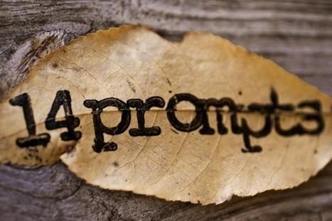 14 Prompts | Écriture | Scoop.it