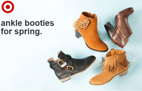 Pair your fashion apparels with fashionable footwear from Target | Best Bargain | Scoop.it