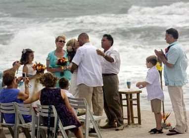 Tropical Storm Debby wreaks havoc on beach weddings, but vows prevail - Tampabay.com   clearwater   Scoop.it
