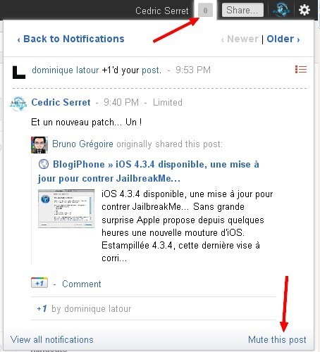 30 astuces Google+ à connaitre | Autour du Web | Time to Learn | Scoop.it