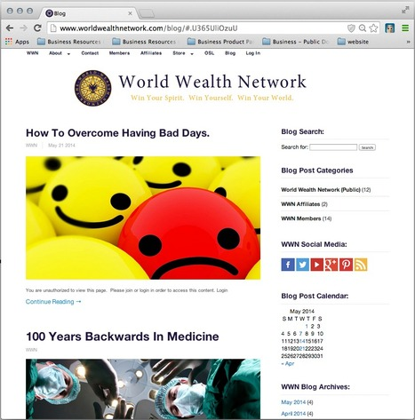 Blog | The World Wealth Network | Scoop.it