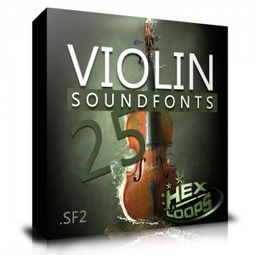 Download 25 Violins Soundfonts Files | Hex Loops | music production | Scoop.it
