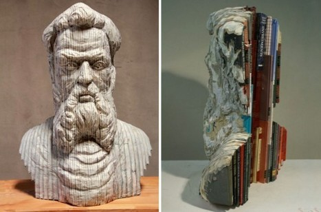 Fuck Yeah, Book Arts! (fer1972: Book Sculptures by Long-Bin Chen) | Booketing | Scoop.it