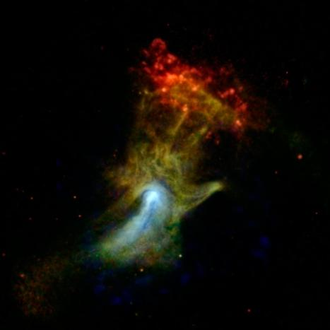 'Hand of God' Spotted by NASA Space Telescope (Photo) | Astronomy News | Scoop.it