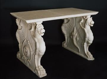 De l'origine du mot console à la console Louis XV. : antiquaire   Meubles de style ancien   Scoop.it