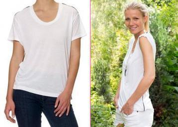 Gwyneth Paltrow Unveils $90 GOOP T-Shirt | Morning Show prep | Scoop.it