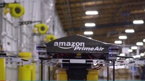 Amazon's Futuristic Plans, Testing Delivery by Drone Service | PR and Business | Scoop.it
