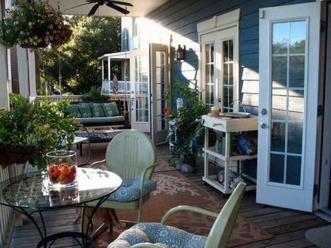 Back-Porch-Ideas-With-White-door.jpg (800x600 pixels) | Ashley's Interior Design ideas | Scoop.it