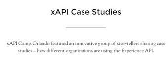 @Ignatia Webs: xAPI case studies available #xapi yeah!   e-learning-ukr   Scoop.it