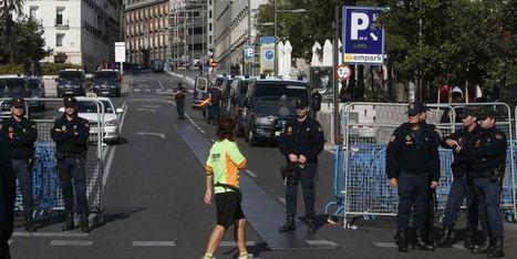 A Madrid, des manifestants veulent occuper le Parlement | Union Européenne, une construction dans la tourmente | Scoop.it