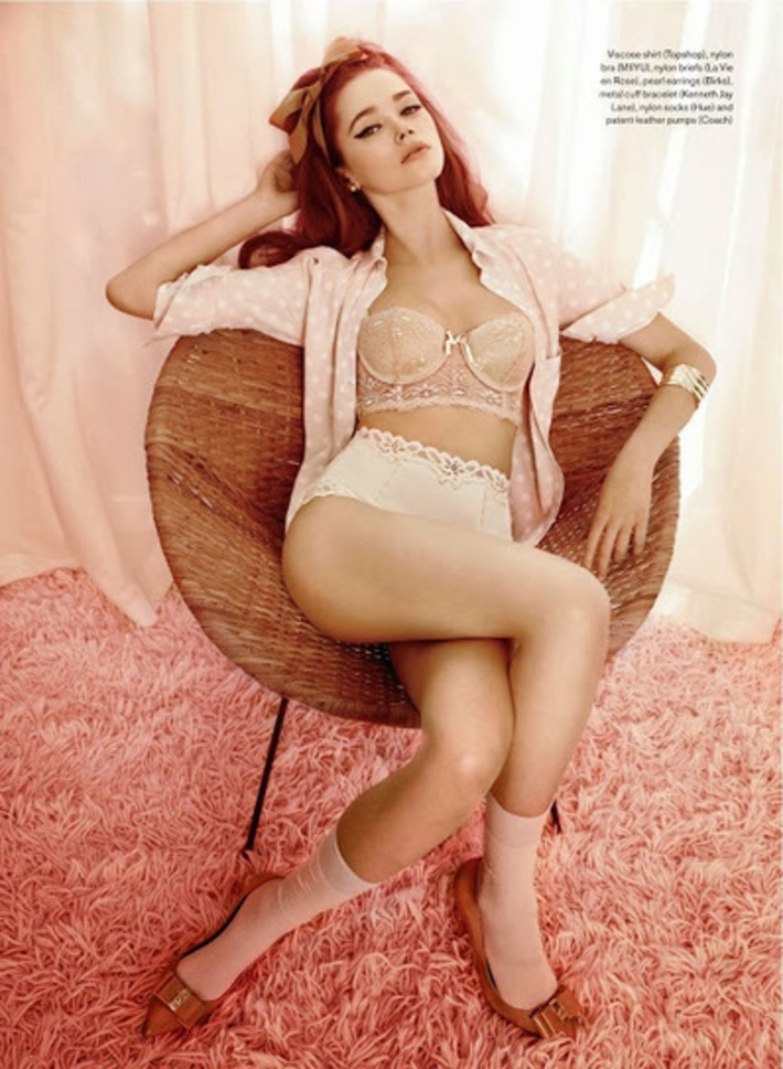 Retro Looks In The Modern World: Pink Lady | Lingerie Love | Scoop.it