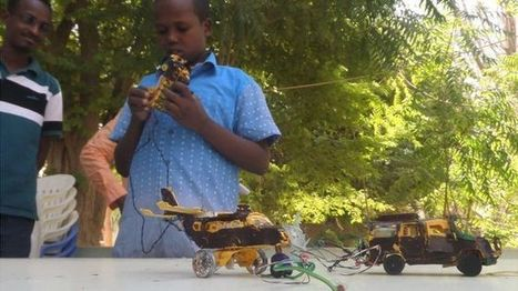 Somalia's 13-year-old inventor finds fame | Afrika | Scoop.it