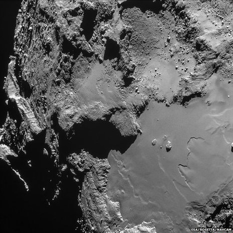 Rosetta catches its own shadow | Quirky (with a dash of genius)! | Scoop.it