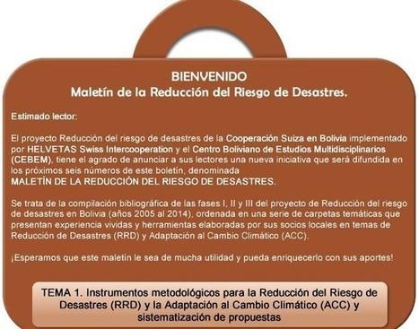 MALETÍN DE LA REDUCCIÓN DEL RIESGO DE DESASTRES. | Infraestructura Sostenible | Scoop.it