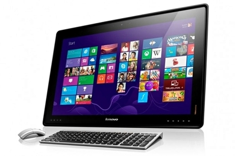 Lenovo Desktop PC Doubles as a Large Tablet | GADG | social rating - review and compare products | Scoop.it
