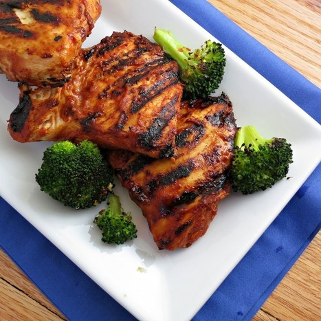 #RECIPE - Grilled BBQ Chicken | Finger Food | Scoop.it