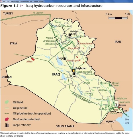 Iraq crude oil exports stall amid pipeline attacks | SecureOil | Scoop.it
