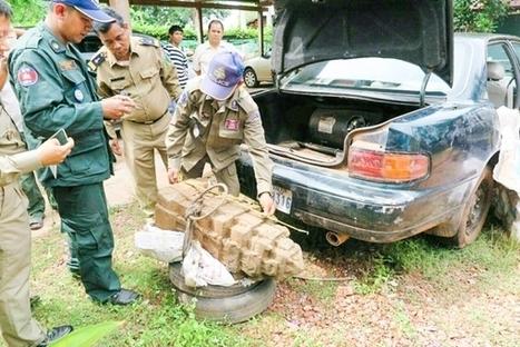 Cambodia's Forestry Officials Foil Suspected Looters - Archaeology Magazine | Centro de Estudios Artísticos Elba | Scoop.it