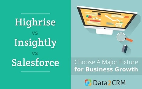 Highrise vs Insightly vs Salesforce: Choose A Major Fixture for Business Growth | CRM Data Migration Tips | Scoop.it