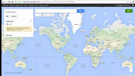 Google Maps Engine - Create a custom map using your selected data | iEduc | Scoop.it