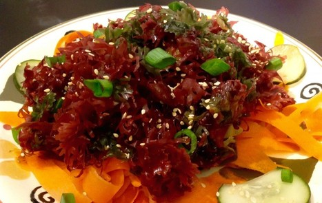 Seaweed Salad With Toasted Sesame Dressing [Vegan, Gluten-Free] | My Vegan recipes | Scoop.it