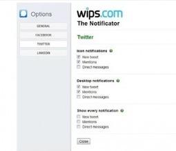 The Notificator. Alertes et notifications pour Chrome. | Les outils du Web 2.0 | Scoop.it